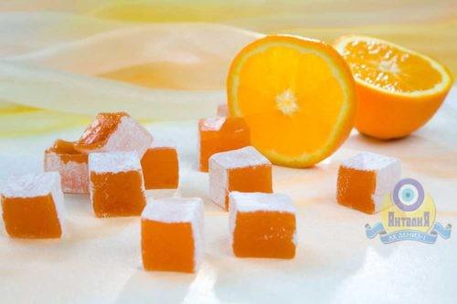 Лукум апельсиновый